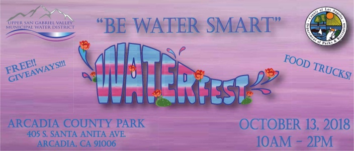 WaterFest 2018 Save The Date Flyer