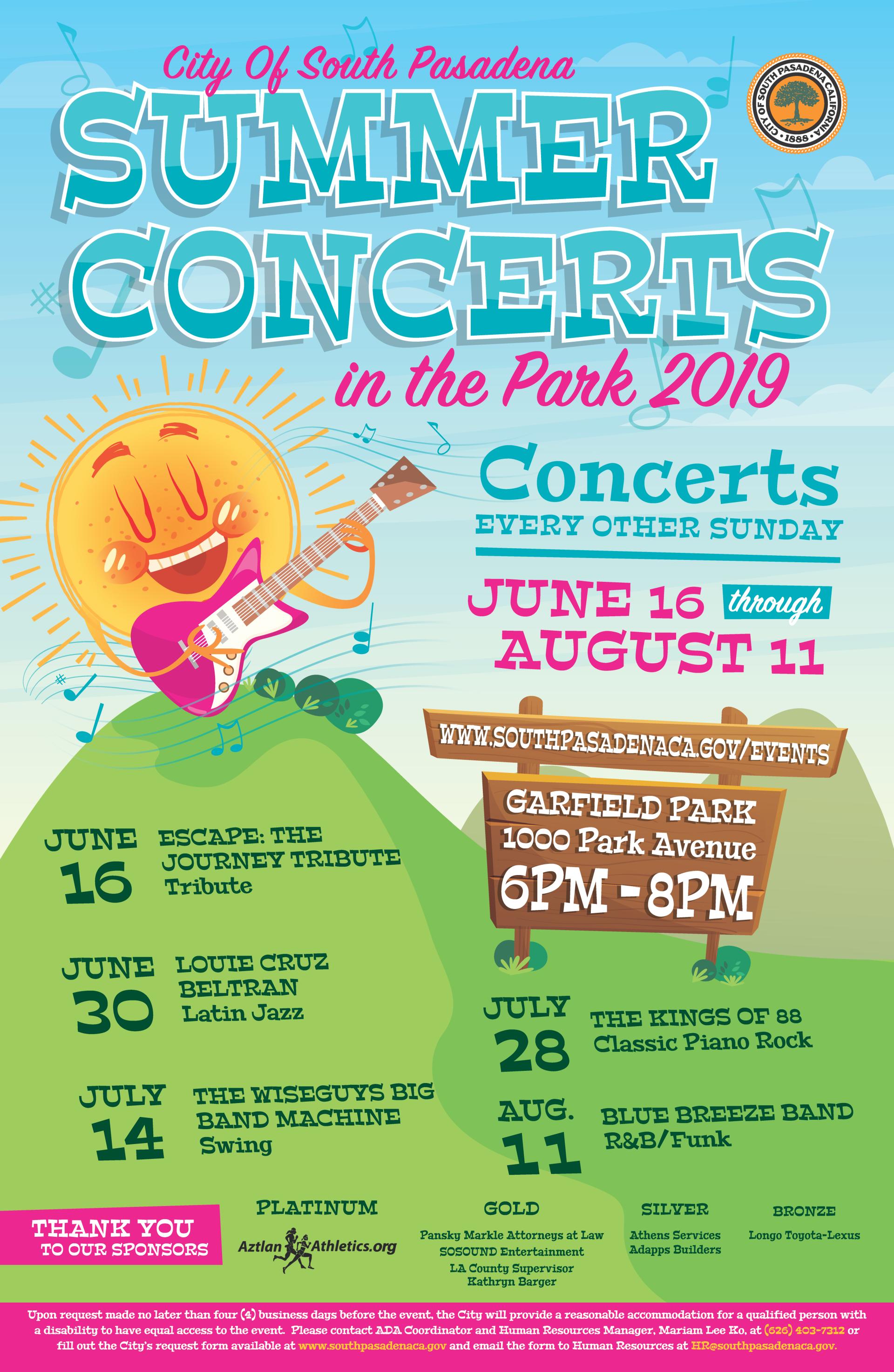 Special Events and Programs | South Pasadena, CA