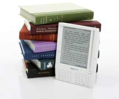 Picture of Books and eReader