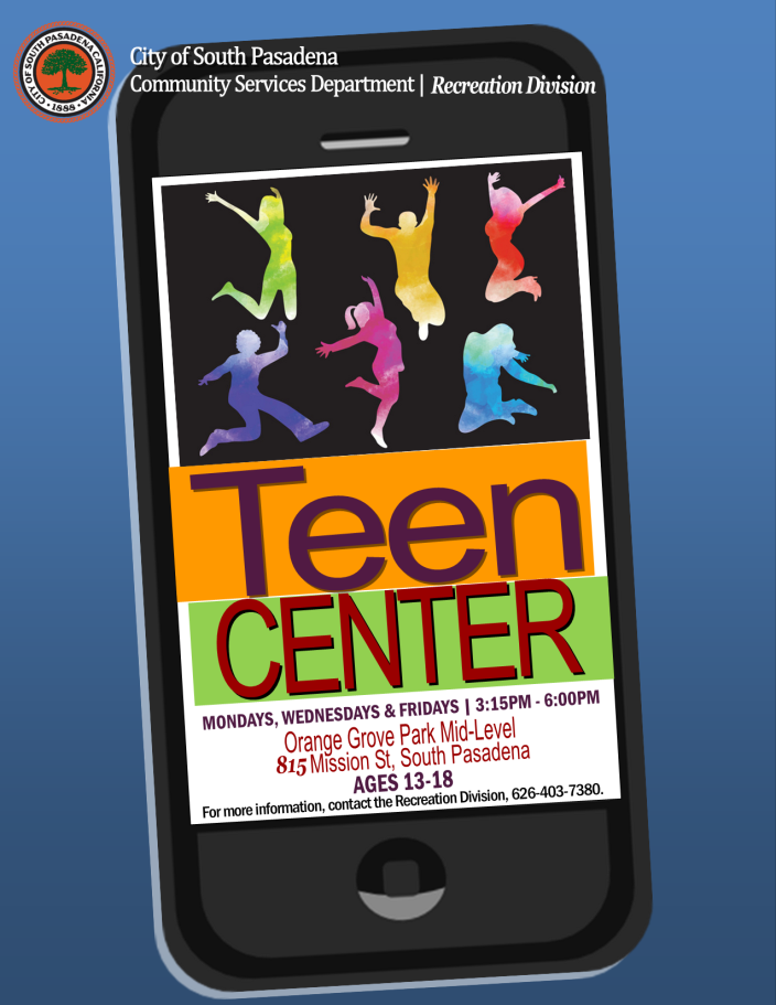 Teen Center Flier v2