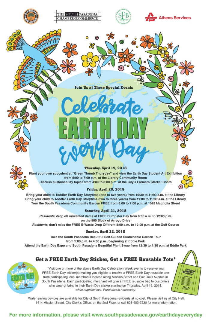 Celebrate Earth Day Every Day Flyer