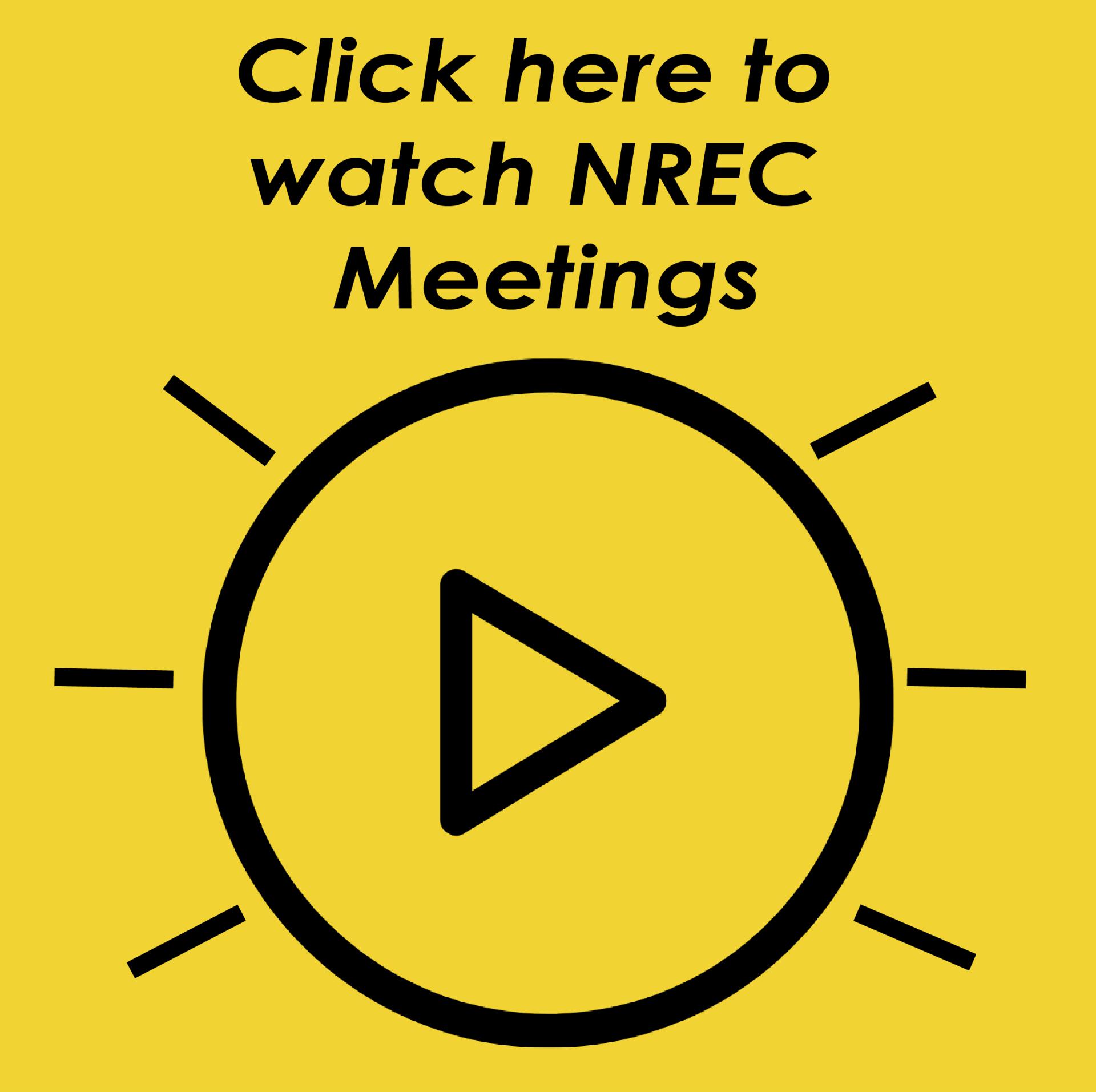 NREC Meetings Logo